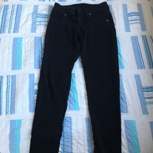 LF Carmar black crop jeans with zippers -25